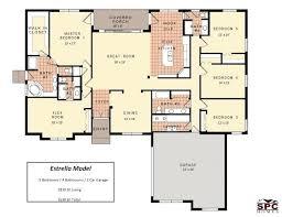 single story floor plans with open floor plan one story open floor plans single story open floor plans alt bedroom