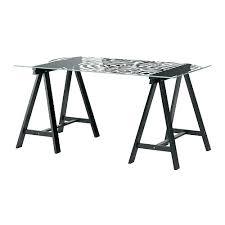 bureau table verre bureau en verre noir design bim a co