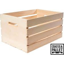 How To Make A Toy Chest Out Of Pallets by Crates And Pallet Large Wood Crate Walmart Com