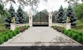 bridgehampton new york stone mansion