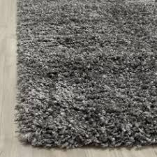 safavieh toronto handmade ivory light grey shag rug 5 u0027 square