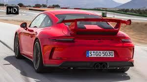 porsche gt3 red 2018 porsche 911 gt3 guards red racetrack test drive u0026 design