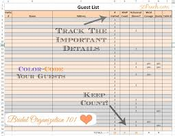 Tips For Making Your Guest List by Easy Wedding Organization 4 Fool Proof Tips From A Fab Bridal Blogger