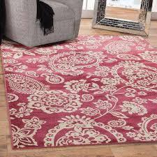 Raspberry Pink Rug Sams International Rugs Flooring The Home Depot
