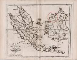 Brunei Map Map Of Brunei 1749