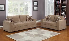 Corduroy Living Room Set by Paramus 9738 Sofa Homelegance Light Brown Corduroy W Options
