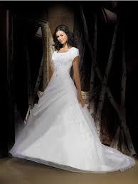 dresse lds modest wedding gowns short sleeves modest wedding