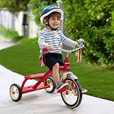 amazon black friday specials for toddlers ride on toys amazon com radio flyer classic red dual deck tricycle radio