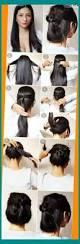 glamour hairstyles medium length hair medium length casual updo 10 easy amp glamorous updos for medium
