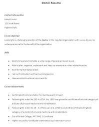 sle resume format for freshers doctor doctorresume sales doctor lewesmr