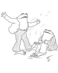 frog and toad coloring pages intended for present property cool
