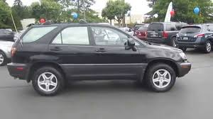 toyota lexus truck 1999 lexus rx300 black stock 140451a walk around youtube