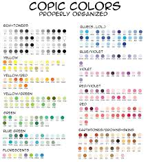 so fab copic organized by color by mugeeeeeeen on deviantart