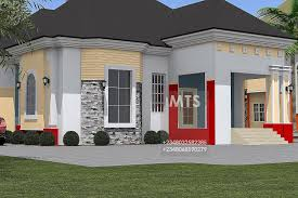 four bedroom houses 4 bedroom bungalow residential homes and designs