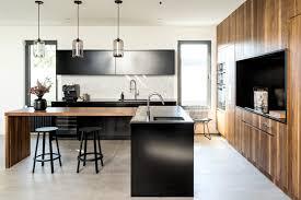 table cuisine design design une cuisine moderne à montréal maison et demeure