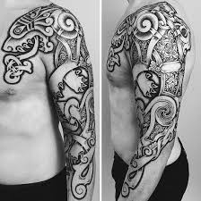 50 celtic wolf tattoo designs for men knotwork ink ideas
