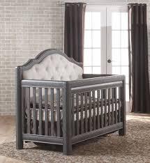 Summer Highlands Convertible 4 In 1 Crib Pali Cristallo Forever Crib Distressed Granite
