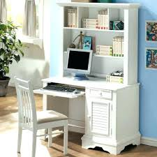 computer desk with shelves white white desk with bookshelf getrewind co