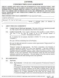 construction loan agreement image 31 documents to be signed