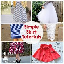 pattern for simple long skirt sewing skirts tutorials the crafting chicks