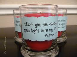 cars and ribbons shine your light candle gift