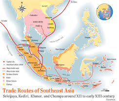 Southeast Asia Map by 10 Historical And Trade Route Maps Of Southeast Asia