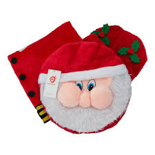 Christmas Bathroom Rugs by Santa Toilet Seat Cover And Rug Set Review Christmas Decorations