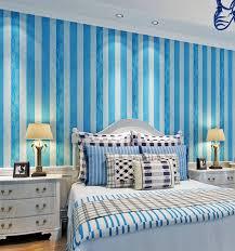 Wallpaper Livingroom by Hanmero 0 53x10m Roll Modern Simple Style Blue White Striped