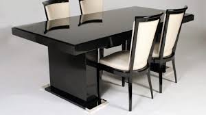 black contemporary dining table white lacquer dining table houzz contemporary throughout 12