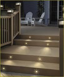 white solar deck lights home design ideas