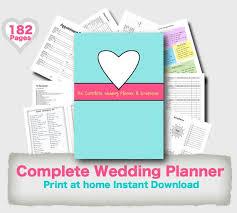 wedding planner organiser wedding planner binder printable evergreen wedding planner