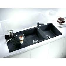 home depot black sink home depot kitchen sinks undermount composite granite double bowl