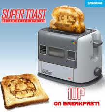 Extreme Toaster 1up On Breakfast U2013 The Retro Snes Toaster Ufunk Net