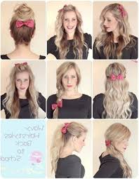 easy hairstyles for school with pictures quick and easy hairstyles for school youtube hair style 2018