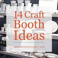 table picture display ideas craft display booth ideas and photos