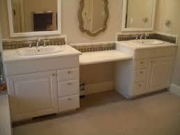 bathroom glass tile vanity backsplash in fort collins colorado