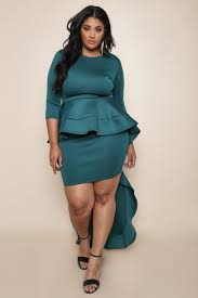 peplum dress modern glam plus size peplum dress dresses gs