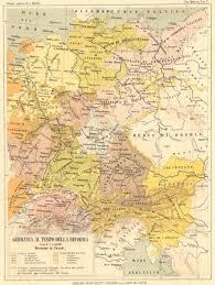 germania map germany germania al tempo della riforma 1889 map