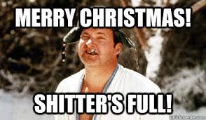 Merry Christmas Funny Meme - merry christmas shitter s full cousin eddie quickmeme