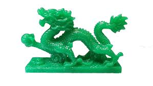 amazon com new jade chinese feng shui dragon figurine statue for