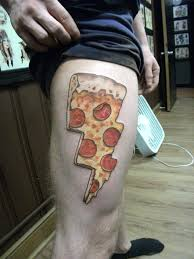 15 tasty tattoo tributes to pizza