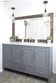 Large Bathroom Mirror Ideas - mirrors ideas for framing a large bathroom mirror industrial