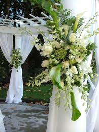 outdoor wedding arch decorations making the outdoor wedding