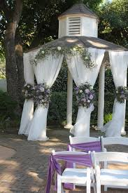 Wedding Flowers Houston Butler U0027s Courtyard Houston Tx Wedding Gazebo Decor Lavender And