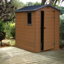 Shiplap Sheds 6 X 4 6x4 Apex Shiplap Plastic Shed Base Included Departments Diy At B U0026q