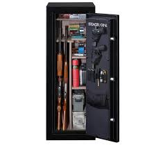 stack on gun cabinet upgrades stack on armorguard 18 gun safe sportsman s warehouse