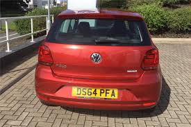 volkswagen red car find a used red vw polo 1 0 se 60 ps bmt in telford volkswagen