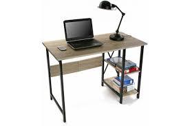 bureau industriel bois et metal bureau pliable industriel bois et métal moneva bureau pas cher