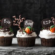 wickedly fun halloween cupcakes haunted graveyard graveyards