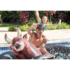amazon com intex inflat a bull inflatable pool toy 96